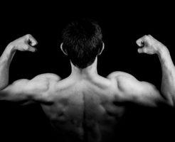 筋肉と男性