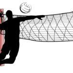 バレーボールのイラスト